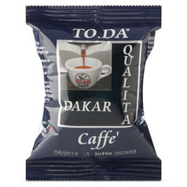 100 Capsule DAKAR Caffè Gattopardo To.Da Compatibili Lavazza point