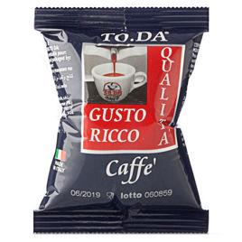 100 Capsule RICCO Caffè Gattopardo To.Da Compatibili Lavazza point