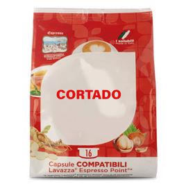 128 Capsule CORTADO To.Da Compatibili Lavazza Point