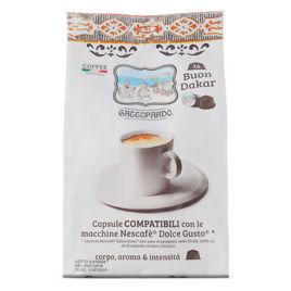 128 Capsule DAKAR Caffè Gattopardo To.Da Compatibili Dolce Gusto