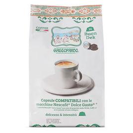 128 Capsule DEK Caffè Gattopardo To.Da Compatibili Dolce Gusto