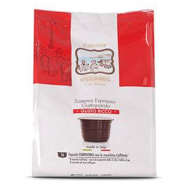 96 Capsule RICCO Caffè Gattopardo To.Da Compatibili Caffitaly