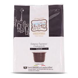 96 Capsule DAKAR Caffè Gattopardo To.Da Compatibili Caffitaly