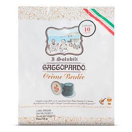 80 Capsule CREME BRULEE Gattopardo To.Da Compatibili Nespresso