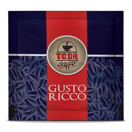150 Cialde GUSTO RICCO Caffè Gattopardo To.Da Compatibili ESE 44mm