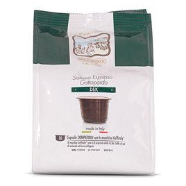 16 Capsule DEK Caffè Gattopardo To.Da Compatibili Caffitaly