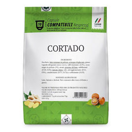 80 Capsule CORTADO Gattopardo To.Da Compatibili Nespresso
