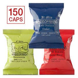 150 Capsule MISTE Caffè Gattopardo To.Da Compatibili Lavazza A Modo Mio con Spedizione Gratis