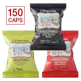 150 Capsule MISTE Caffè Gattopardo To.Da Compatibili Nespresso con Spedizione Gratis