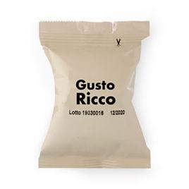 100 Capsule RICCO Caffè Gattopardo To.Da Compatibili Essse Caffè