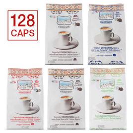 128 Capsule MISTE Caffè Gattopardo To.Da Compatibili Dolce Gusto